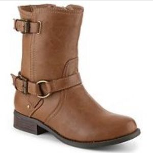 Guess Holden Brown Bootie Medium Natural size 10